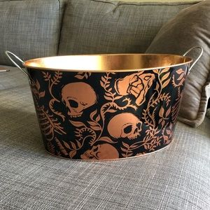 Target Halloween Scull Drink Tub or Candy bucket